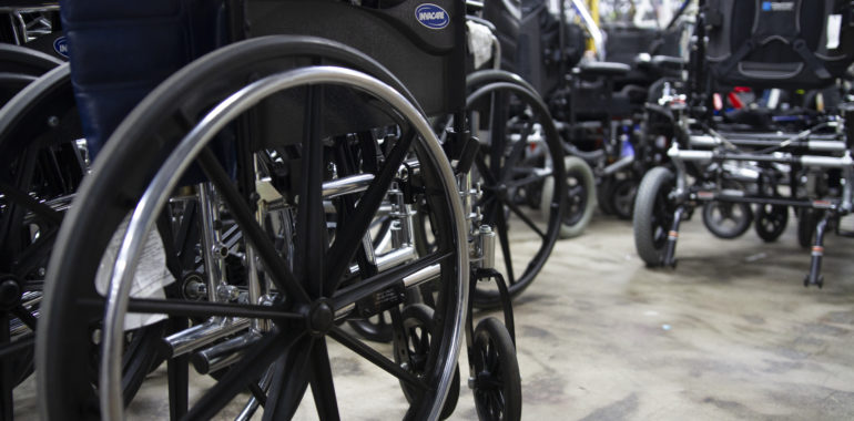 Wanted: Wheelchairs and Hospital Beds!