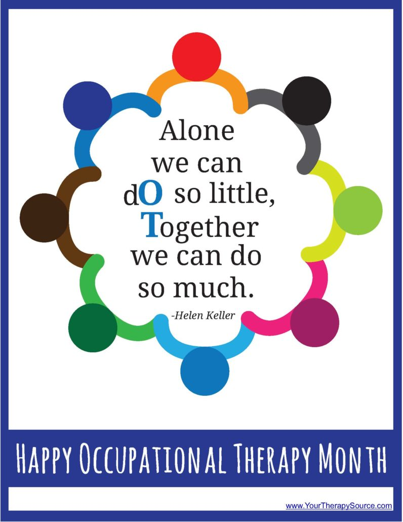 HELP Celebrates National Occupational Therapy Month