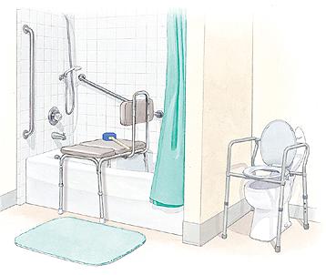 Proper Medical Equipment Prevents Falls