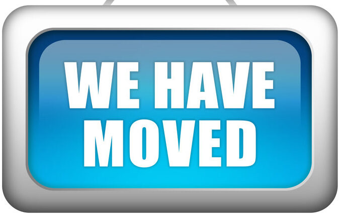 We have moved!!!